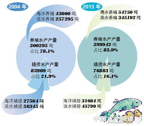 廣州:捕撈水產減一成 養殖水產增三成