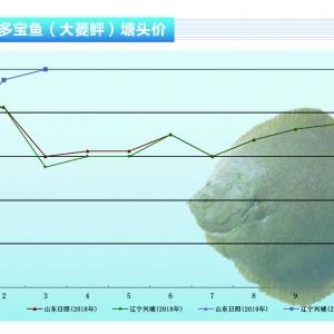 大菱(ling) (ping)︰受(shou)南方網箱(xiang)魚沖擊,4月(yue)份魚價(jia)將有所下滑——《水產前(qian)沿》2019年4月(yue)刊(kan)市場趨(qu)勢
